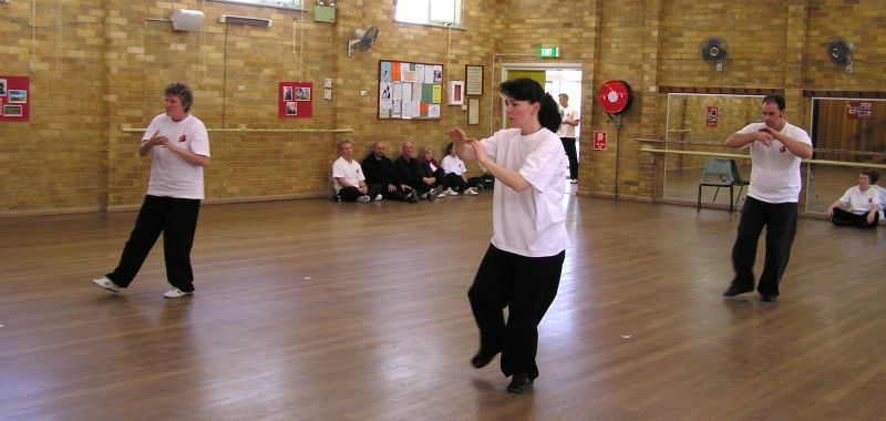 Helen, Rachel Ken demonstrate Fast Form