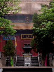 holy temple in China