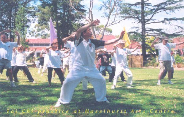 Tai Chi Practice at Hazelhurst