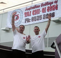 Ken and Kevin Compete for Guinness World Record 18-Mar-2006